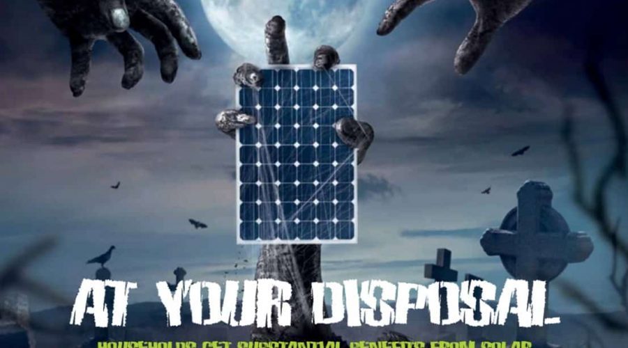 Electrical Connection article on Solar Panel Recycling